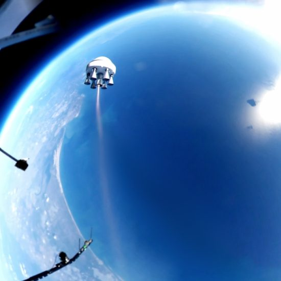 Barcelona Startup Zero 2 Infinity Launches Its First Rocket from the Edge of Space (Photo by Zero to Infinity)