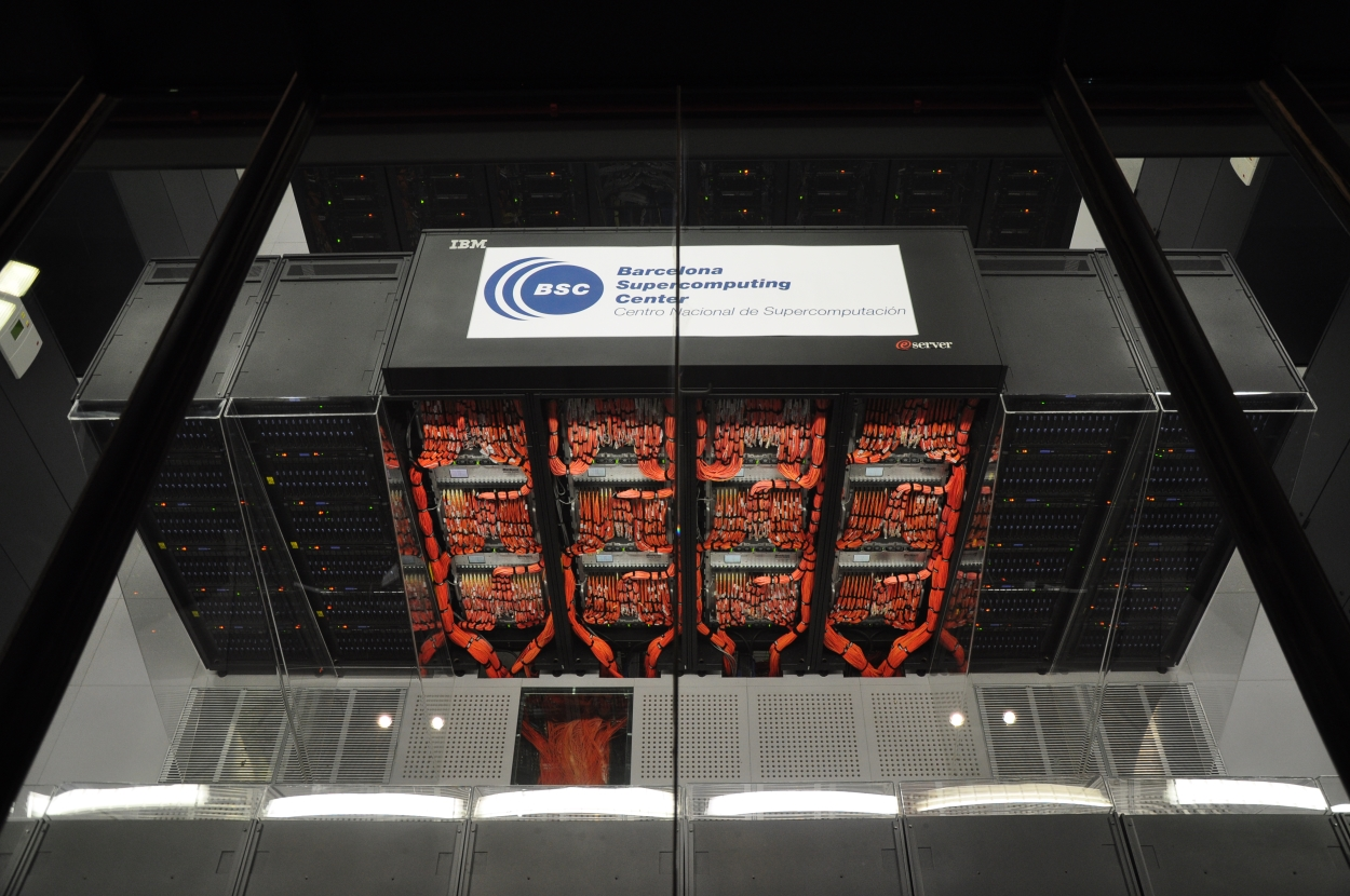 BSC- Barcelona Supercomputing Center MareNostrum-A by Vcarceler