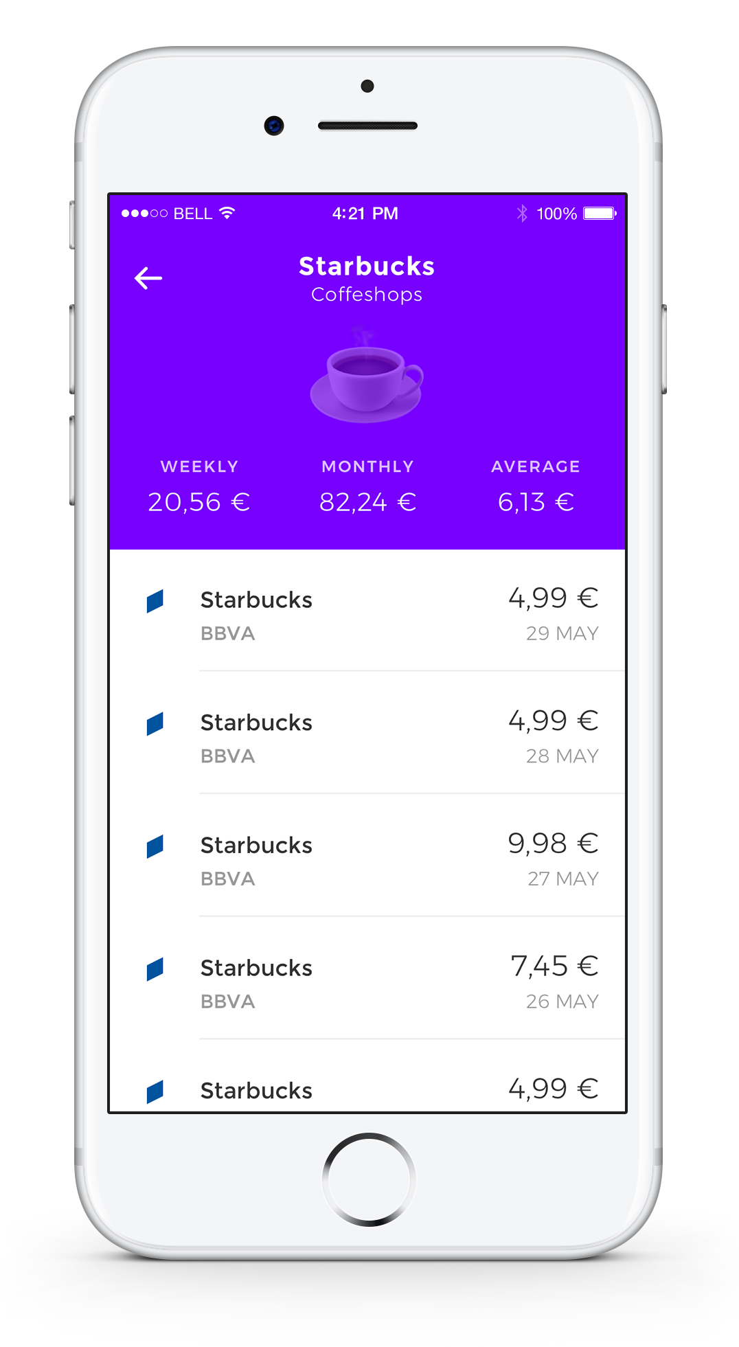 Combine App - Take Control of Your Finances - Barcelona Fintech Startup - Mobile View 01