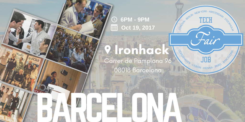 Barcelona Tech Job Fair 2017