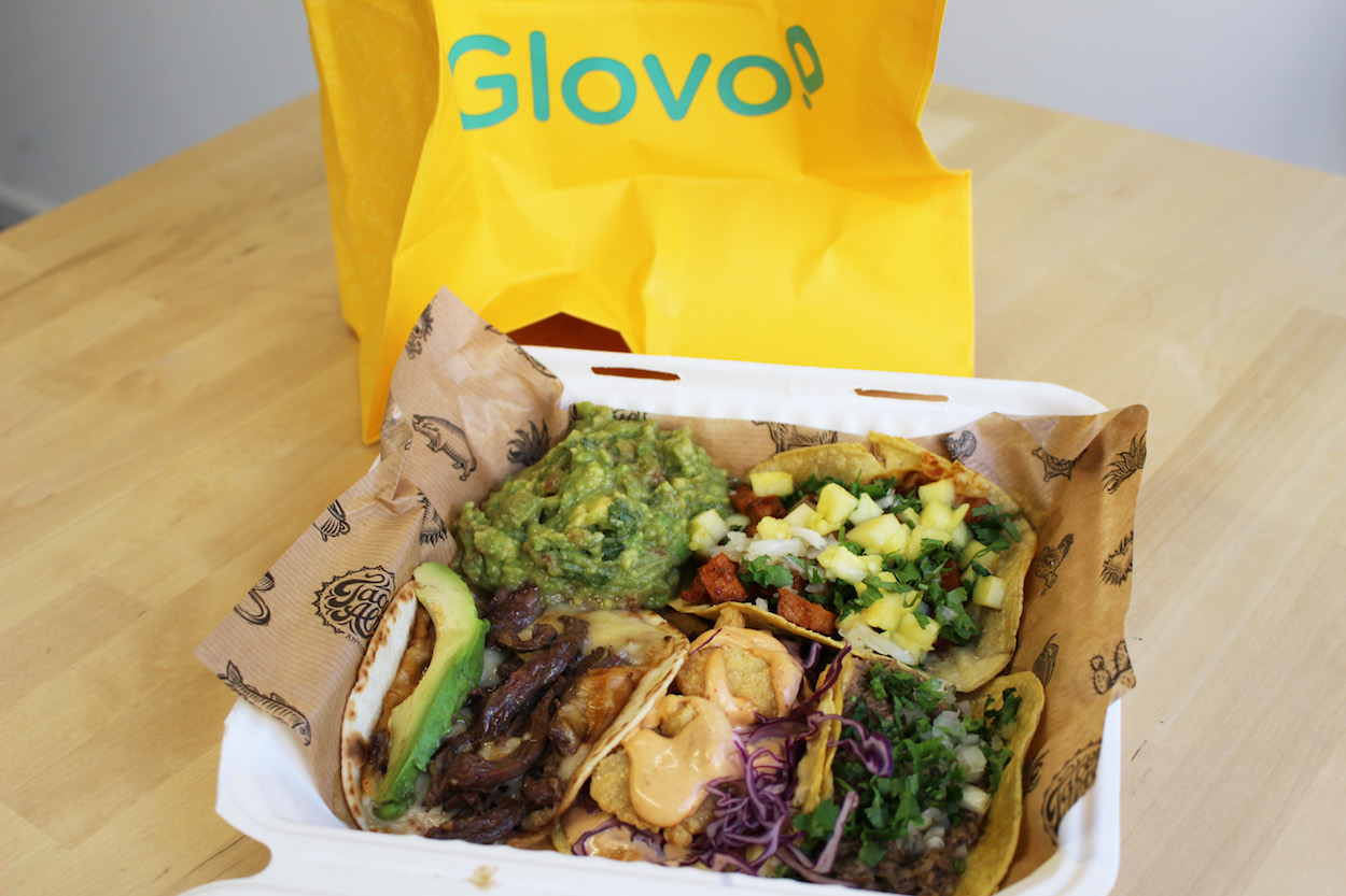 Barcelona Food Delivery App Test_Mexican_Glovo