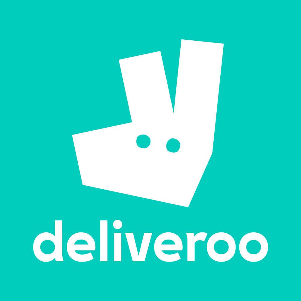 Deliveroo Barcelona food delivery app logo