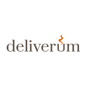 Deliverum Barcelona food delivery company logo