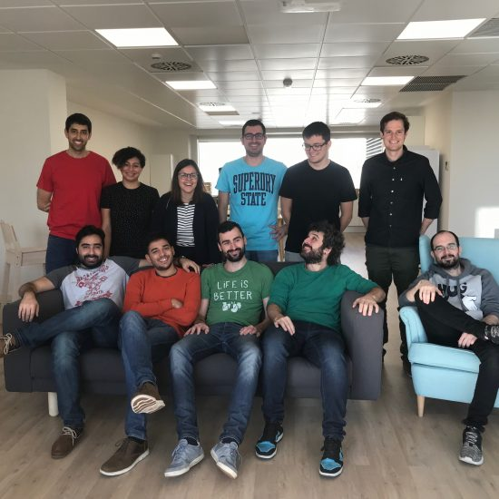The Barcelona team of Zopa – one of the world's first fintech businesses that just opened a tech center in Barcelona