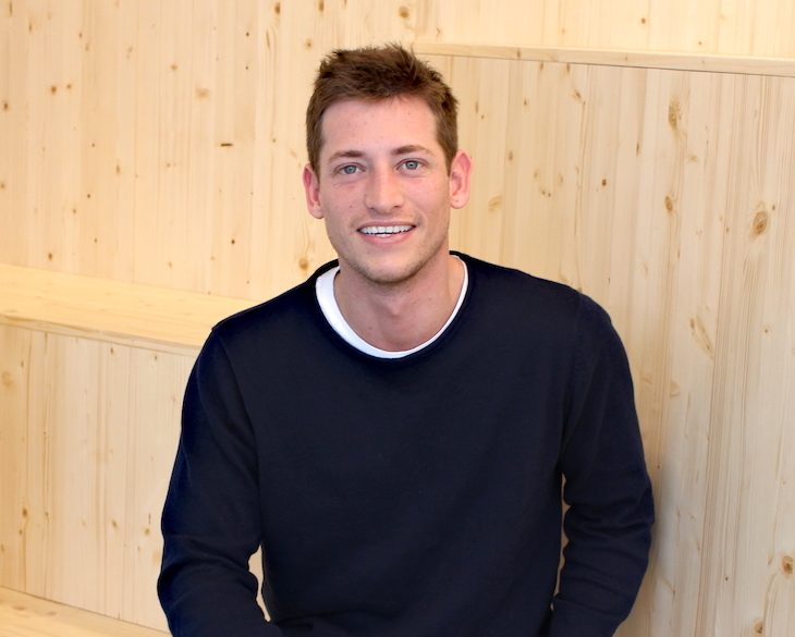 Carlos Pierre, CEO and Founder of Barcelona-based share rental startup Badi app