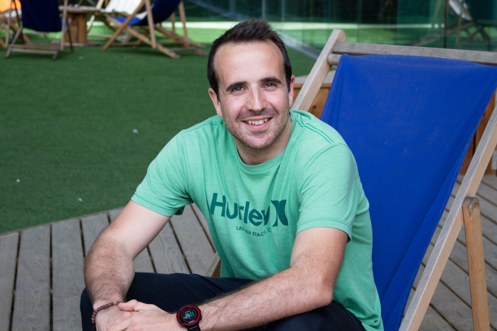 Marc Caballe, CEO of Barcelona chatbot startup Hubtype