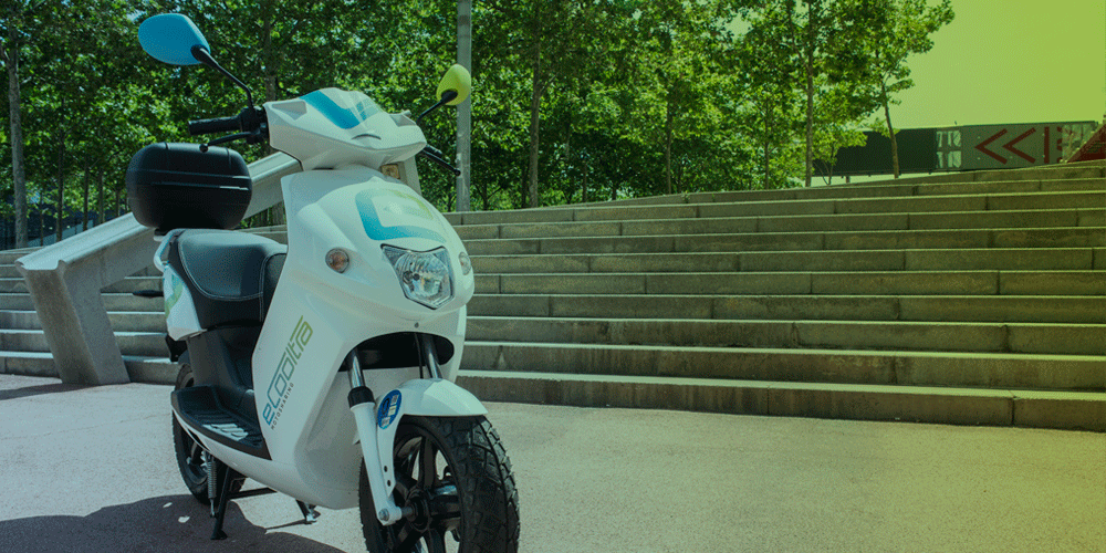Discover Barcelona with ecooltra, the leading electric scooter sharing service in Europe