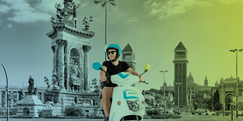 Electric scooter sharing in Barcelona – the advantages of scooter sharing
