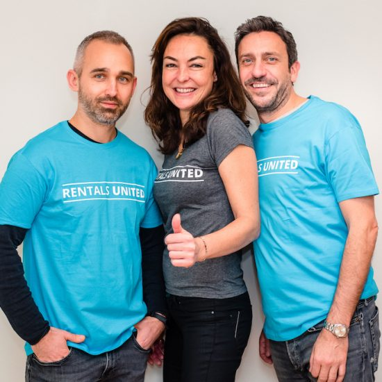 The founders of Barcelona-based vacation rental technology startup Rentals United